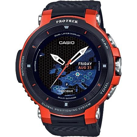 [カシオ] 腕時計 スマートアウトドアウォッチ プロトレックスマート GPS搭載 WSD-F30-RG メンズ ブラック