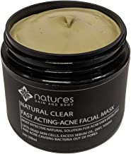 Natural Clear-Acne Treatment Mask-Works Better Than Benzoyl Peroxide And Salicylic Acid. Immediately Absorbs Excess Sebum ...