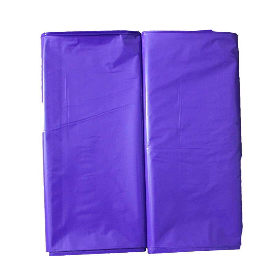 100 12x15 Durable Purple Merchandise bags Die Cut Handle-Glossy finish-Anti-Strech-100% Recyclable. For Retail store plastic bags, Party favors, Handouts and more by Best Choice (Purple)