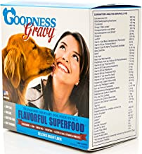 Goodness Gravy for Dogs - Vitamins, Nutrients, Minerals & Enzymes - 30 Day Supply