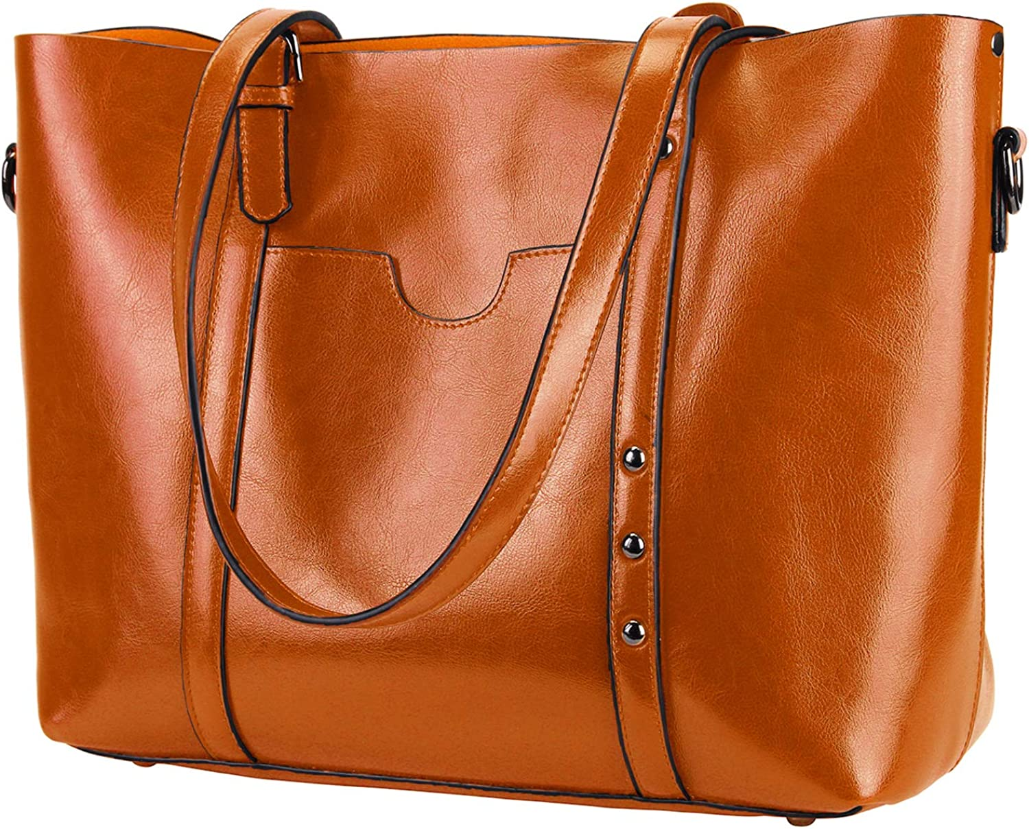 YALUXE Leather Shouldr Bag for Handbags Satchel Boston Mall and Time sale Purses Women