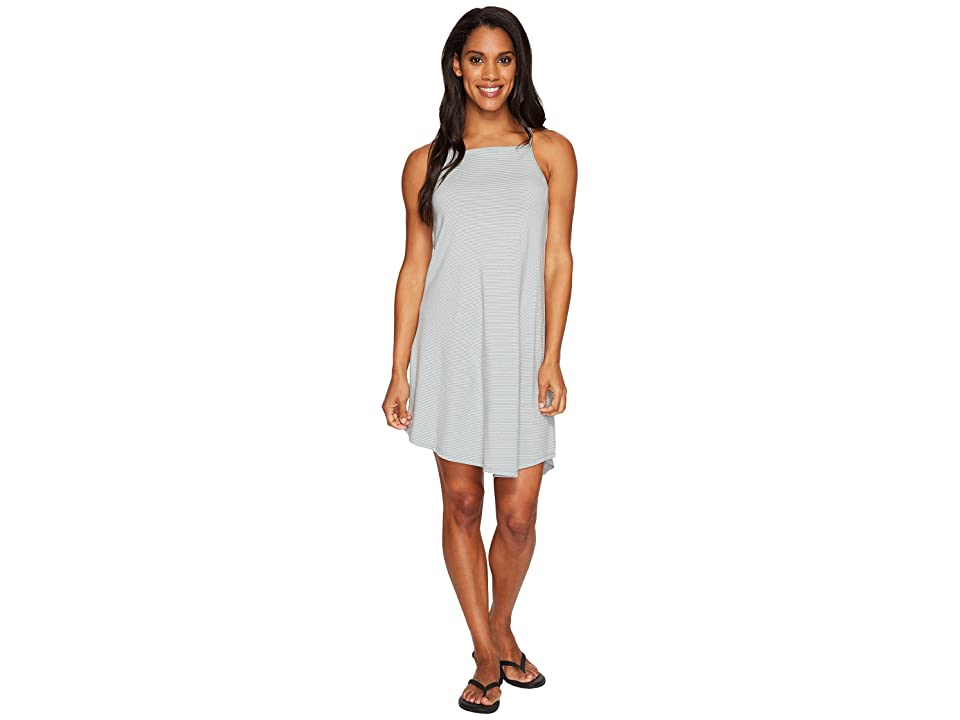 NAU Astir Strappy Dress (Slate Stripe) Women