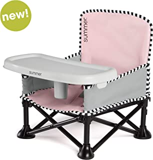 Summer Pop 'n Sit SE Booster Chair (Sweetlife Edition), Bubble Gum