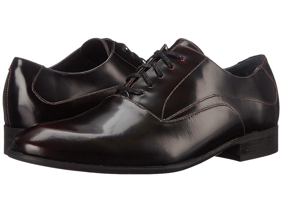 Calvin Klein Von (Bordo Brush-Off Leather) Men