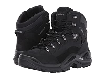 Lowa Renegade GTX(r) Mid (Black/Black) Men