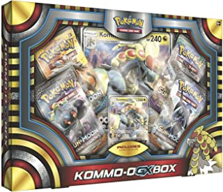 Pokemon TCG: Ultra Sun & Moon Kommo-O Gx Box | Includes 4 Expansion Boosters |, Featuring Rare Kommo-O-Gx Foil Card Plus an Oversize Collectible Kommo-O-Gx Foil