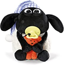 NICI 41470 Shaun The Sheep Timmy's with Small Bear and Cuddly Toy 25 cm, Colour: White/Black