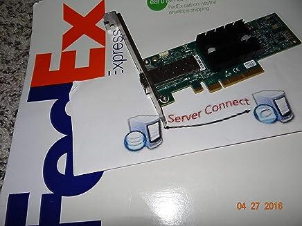HP 10GB シングルポート Mellanox Connectx-2 PCI-E 10Ge イーサネットネットワークインターフェースカード ブラケット付き 671798-001/666172-001/ MNPA19-XTR HP Proliant サーバー用 (認定整備品)