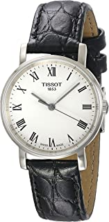 Men's Everytime Medium - T1094101603300 Silver/Brown One Size