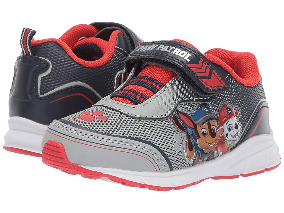 Josmo Kids Paw Patrol Mesh Sneaker (Toddler/Little Kid) (Grey/Red) Boy