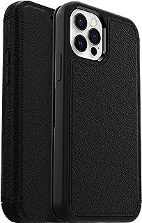 OtterBox voor Apple iPhone 13 Pro, Premium Leren Val Bescherming Folio Hoesje, Strada Series, Zwart
