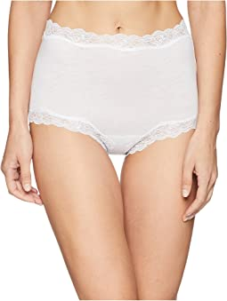 Organic Cotton Brief with Lace