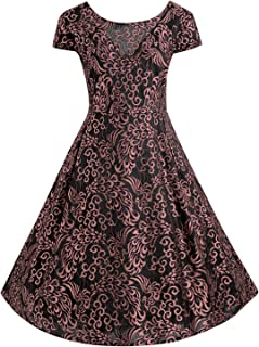 dextrad dress Plus Size Women Dress Sleeveless Halter Belts Rockabilly Prom Party Vestidos