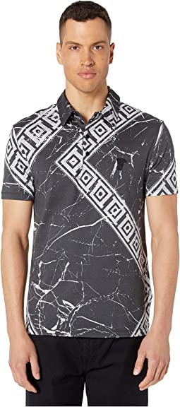 43a6bfa7a248 Black Marble Print. 0. Versace Collection