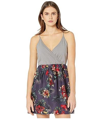 Roxy Floral Offering Dress (Mood Indigo Tropical Nights) Women