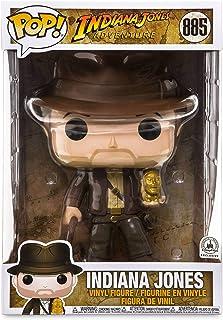 """Funko POP! Indiana Jones Adventure #885 - Indiana Jones 10"""" Disney Parks Exclusivo"""