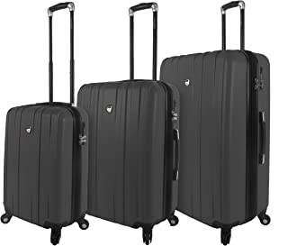 Mia Toro Italy Mantouvani Hardside Spinner Luggage 3pc Set