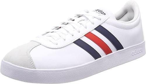 adidas VL Court 2.0, Chaussures de Fitness Homme, Blanc (Ftwbla ...