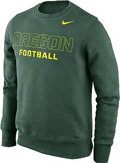 NIKE Oregon Ducks Practice Classic Crew Sweatshirt