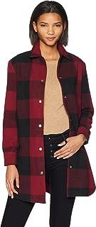 BB Dakota Women's Eldridge Buffalo Plaid Coat