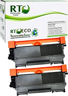 Renewable Toner Compatible Toner Cartridge Replacement for Brother TN-450 TN450 Laser Printers DCP-7060 7065 HL-2130 - HL-...