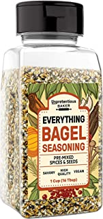 Best Everything Bagel Seasoning, 1 cup Shaker Jar, Add Texture & Flavor to Any Recipe, Mix of Sesame Seeds, Poppy Seeds, Garlic, Onion & Salt, Convenient Shaker Jar Review