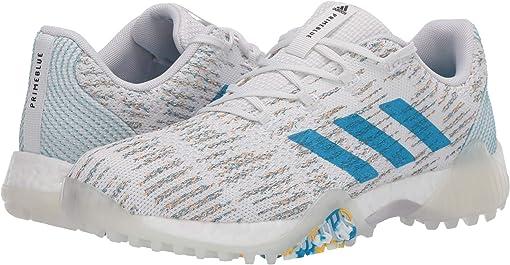 Footwear White/Sharp Blue/Blue Spirit