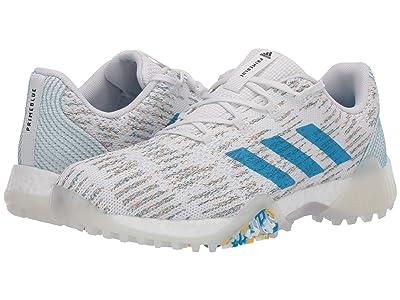adidas Golf Codechaos Prime Blue (Footwear White/Sharp Blue/Blue Spirit) Women