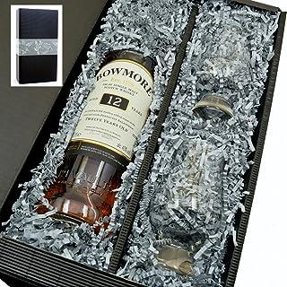 Bowmore Singe Malt Scotch Whisky 12y 40% 0,7l mit 2 Glencairn Gläser in Geschenkkarton