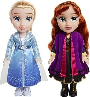 Disney Frozen 2 - Muñecas Anna y Elsa estilo niñas pequeñ