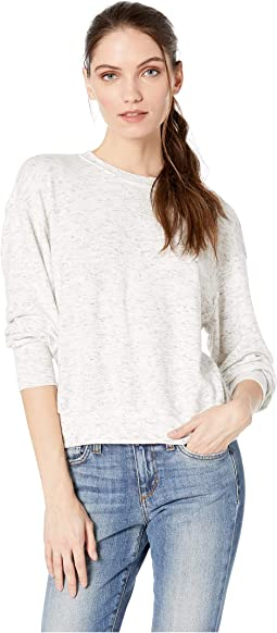 e63578a948 Gigi Madison Brushed Jersey Long Sleeve Crew Neck Pullover