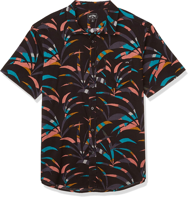 Billabong Men's Classic Sundays Woven Short Sleeve Short Sleeve Shirt