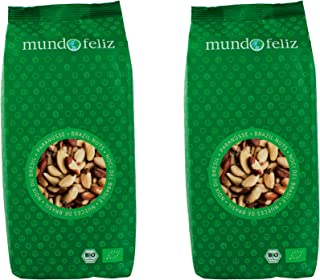 comprar comparacion Mundo Feliz - Nueces de Brasil ecológicas enteras, 2 bolsas de 500g