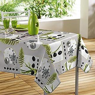 comprar comparacion Décorline - 1710348, Mantel PVC Rectangular, 140 X 240 Cm, Jardin Zen, Photoprint