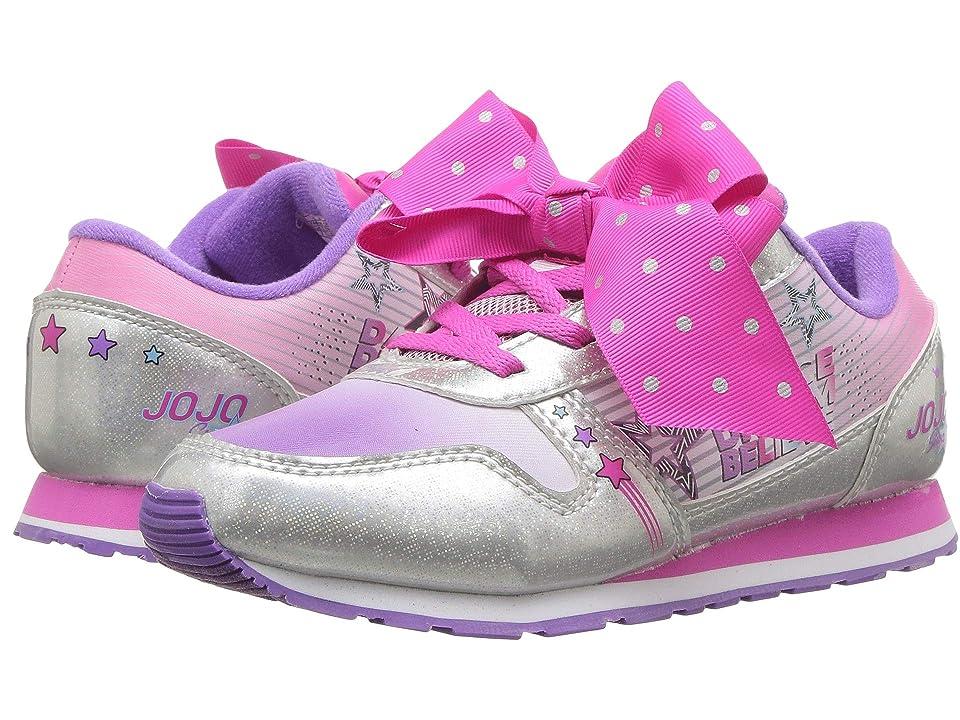 Josmo Kids Jojo Siwa Sneaker (Little Kid/Big Kid) (Lavender/Silver) Girls Shoes