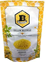 Beesworks 3lb- Beeswax Pellets, Yellow-Cosmetic Grade (1)