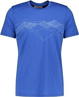 icebreaker Tech Lite Peak Patterns Lapis 2020 Camiseta de manga corta para hombre