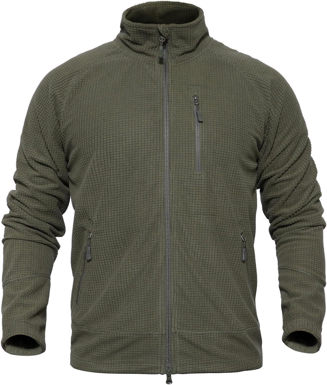 Shanghai Story Mens Softshell Tactical Jacket Outdoor Military Fleece Coat