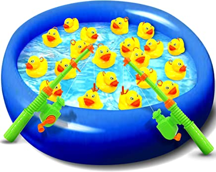 Gamie Hook The Duck Fishing Game for Kids | Fun Ducky...