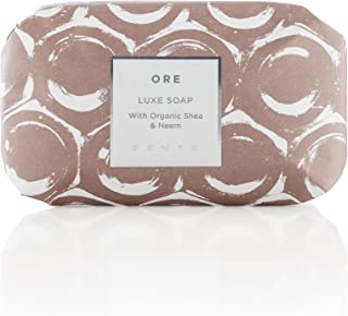Sponsored Ad - ZENTS Triple-Milled Luxe Bar Soap (Ore Fragrance) Moisturizing Hand and Body Wash with Organic Shea Butter,...