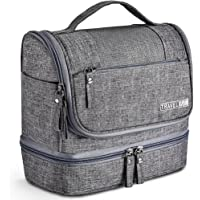 VAGREEZ Hanging Travel Toiletry Organizer Kit (Grey)