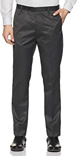 Arrow Men's Tapered Fit Skinny Formal Trousers