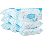 Amazon Elements Baby Wipes, Unscented, 720 Count Flip-Top Packs