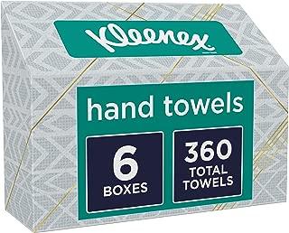 Kleenex Hand Towels, 6 Boxes, 60 Towels Per Box