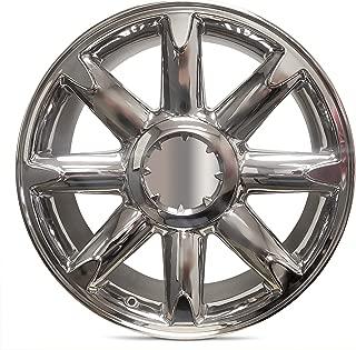 Road Ready Car Wheel For 2007-2013 GMC Sierra 1500 2007-2014 GMC Yukon 20 Inch 6 Lug chrome Aluminum Rim Fits R20 Tire - Exact OEM Replacement - Full-Size Spare