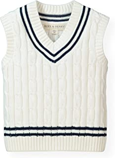 Hope /& Henry Boys V-Neck Sweater Vest