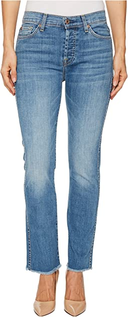7 For All Mankind - Edie w/ Raw Hem in Fillmore