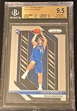 GEM MINT LUKA DONCIC ROOKIE CARD - 2018-19 Prizm Basketball - Beckett Graded GEM Mint 9.5