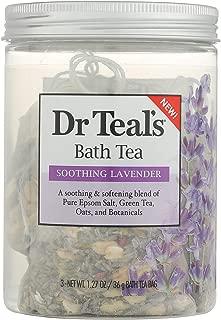 Dr Teal's Bath tea soothing Lavender Bath Soaks - 3oz, pack of 1