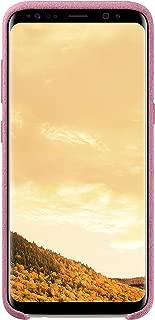 Genuine Samsung Alcantara Cover Case for Samsung Galaxy S8 Pink EF-XG950APEGWW